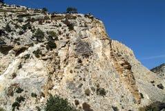 Το φαράγγι Avakas στο μεσογειακό νησί της Κύπρου Στοκ φωτογραφία με δικαίωμα ελεύθερης χρήσης