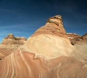 Το φαράγγι Paria, πορφυροί απότομοι βράχοι, Αριζόνα Στοκ Φωτογραφίες