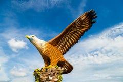 Το Φεβρουάριο του 2017 - Langkawi, Μαλαισία - τετράγωνο αετών Στοκ φωτογραφία με δικαίωμα ελεύθερης χρήσης