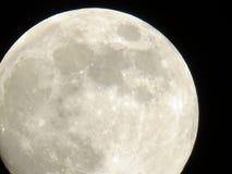 Το φεγγάρι στο νυχτερινό ουρανό Στοκ Εικόνα