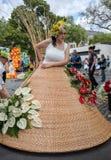 Το φεστιβάλ λουλουδιών της Μαδέρας, Φουνκάλ, Μαδέρα, Portu Στοκ φωτογραφίες με δικαίωμα ελεύθερης χρήσης