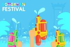 Το φεστιβάλ της Ταϊλάνδης Songkran είναι το νέο έτος Ταϊλάνδης στοκ εικόνες