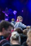 Το φεστιβάλ δέντρων Larmer, Tollard βασιλικό, Wiltshire, UK Στοκ φωτογραφίες με δικαίωμα ελεύθερης χρήσης