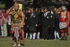 Το φεστιβάλ γιορτάζει τον τουρισμό παγκόσμιας ημέρας στην Ινδονησία Στοκ εικόνα με δικαίωμα ελεύθερης χρήσης