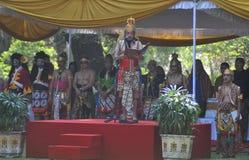 Το φεστιβάλ γιορτάζει τον τουρισμό παγκόσμιας ημέρας στην Ινδονησία Στοκ Φωτογραφία