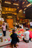 Το φεστιβάλ εννέα Θεών αυτοκρατόρων σε Ampang Στοκ Εικόνα