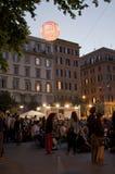Το φεστιβάλ ταινιών Trastevere Στοκ φωτογραφία με δικαίωμα ελεύθερης χρήσης