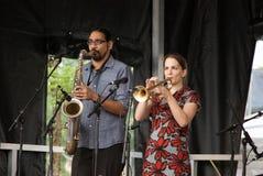 Το φεστιβάλ Guelph Jazz στοκ φωτογραφίες