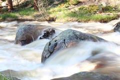 το φθινόπωρο έκανε νωρίς την εικόνα βουνών βουνών το πολικό ρεύμα Στοκ Εικόνα