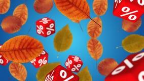 το φθινόπωρο αφήνει την κόκκινη λέξη πώλησης