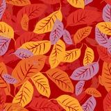 Το φθινόπωρο πεσμένος αφήνει το άνευ ραφής υπόβαθρο σχεδίων απεικόνιση αποθεμάτων