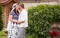 Το φιλί Στοκ Εικόνες