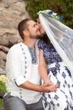 Το φιλί Στοκ φωτογραφία με δικαίωμα ελεύθερης χρήσης