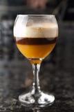 Το φλιτζάνι του καφέ πίνει το κοκτέιλ Στοκ Εικόνες