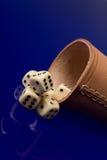 το φλυτζάνι χαρτοπαικτι&kap Στοκ Φωτογραφία