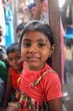 το φοβισμένο πορτρέτο κοριτσιών προσώπου εξέπληξε τις νεολαίες Στοκ εικόνα με δικαίωμα ελεύθερης χρήσης