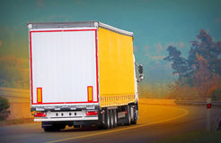 Το φορτηγό Στοκ Φωτογραφίες