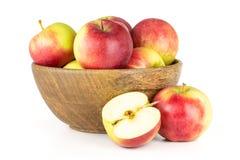 Το φρέσκο κόκκινο μήλο james απομονωμένος στο λευκό στοκ εικόνες με δικαίωμα ελεύθερης χρήσης