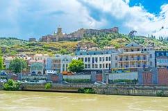 Το φρούριο στο Tbilisi Στοκ εικόνα με δικαίωμα ελεύθερης χρήσης