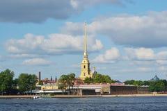 Το φρούριο του Peter και του Paul, ST Πετρούπολη Στοκ εικόνα με δικαίωμα ελεύθερης χρήσης