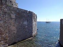 Το φρούριο του ST Peter Bodrum Τουρκία Στοκ Φωτογραφία