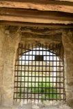 Το φρούριο belgorod-Dniester προστατεύθηκε από τα ισχυρά δικτυωτά πλέγματα Στοκ φωτογραφία με δικαίωμα ελεύθερης χρήσης