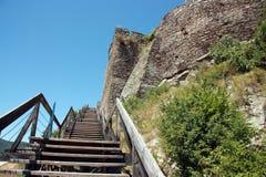 Φρούριο Deva Στοκ φωτογραφίες με δικαίωμα ελεύθερης χρήσης