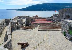 Το φρούριο Kanli Kula (αιματηρός πύργος), Herceg Novi, Μαυροβούνιο Στοκ εικόνα με δικαίωμα ελεύθερης χρήσης