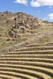 Το φρούριο Pisac στοκ φωτογραφία με δικαίωμα ελεύθερης χρήσης