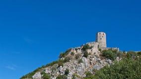 Το φρούριο Pocitelj χτίστηκε από το βασιλιά Tvrtko Ι της Βοσνίας το 1383 στη Βοσνία & Herzegovin Στοκ εικόνες με δικαίωμα ελεύθερης χρήσης
