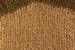 Το φυσικό μαλλί σύστασης πλέκει το σχέδιο Στοκ Εικόνες