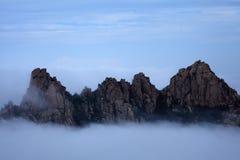 Το φυσικό τοπίο πετρών λιβελλουλών είναι όμορφη μειωμένη πέτρα Στοκ Φωτογραφίες