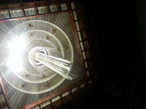 Το φως λάμπει κομψός Στοκ Εικόνα