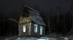 Το φως έκθεσης νύχτας σκιάζει το μυστικισμό στοκ φωτογραφίες