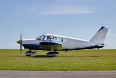 το φως αεροσκαφών από παίρ&n Στοκ εικόνα με δικαίωμα ελεύθερης χρήσης