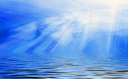 το φως βλέπει Στοκ φωτογραφίες με δικαίωμα ελεύθερης χρήσης