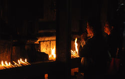 το φως ιστιοφόρου προσ&epsil Στοκ Φωτογραφίες