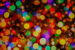 Το φως κεριών boke θολώνει για το υπόβαθρο, ελαφριά θαμπάδα boke κεριών για το υπόβαθρο Υπόβαθρο Bokee διανυσματική απεικόνιση
