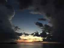Το φως λάμπει κατευθείαν Στοκ Φωτογραφίες