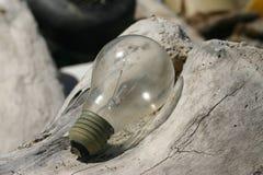 το φως λάμπει Στοκ Φωτογραφίες