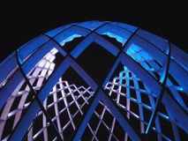 Το φως Λουξεμβούργο παρουσιάζει εγκατάσταση στο Ελσίνκι Στοκ εικόνες με δικαίωμα ελεύθερης χρήσης