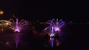 Το φως νερού παρουσιάζει αιμορραγημένος Στοκ Φωτογραφία