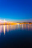 Το φως πηγών ουράνιων τόξων σεληνόφωτου Banpo παρουσιάζει Β Στοκ φωτογραφία με δικαίωμα ελεύθερης χρήσης