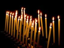Το φως του κεριού Στοκ φωτογραφίες με δικαίωμα ελεύθερης χρήσης