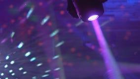 Το φως Disco παρουσιάζει, σκηνικά φω'τα με το λέιζερ φιλμ μικρού μήκους