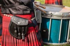 Το φόρεμα χρωματίζει τη σκωτσέζικη συλλογή ορεινών περιοχών ζωνών Στοκ φωτογραφίες με δικαίωμα ελεύθερης χρήσης