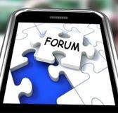 Το φόρουμ Smartphone σημαίνει τα σε απευθείας σύνδεση δίκτυα και τη συνομιλία ελεύθερη απεικόνιση δικαιώματος