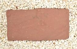 Το φύλλο της πέτρας Στοκ φωτογραφία με δικαίωμα ελεύθερης χρήσης