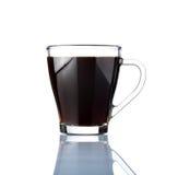 το φλυτζάνι καφέ ανασκόπησ Στοκ Φωτογραφίες
