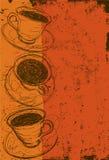 το φλυτζάνι καφέ κοιλαίνει το ονειροπόλο μέτωπο εστίασης έχει να φανεί φωτογραφία μαλακή Στοκ εικόνα με δικαίωμα ελεύθερης χρήσης